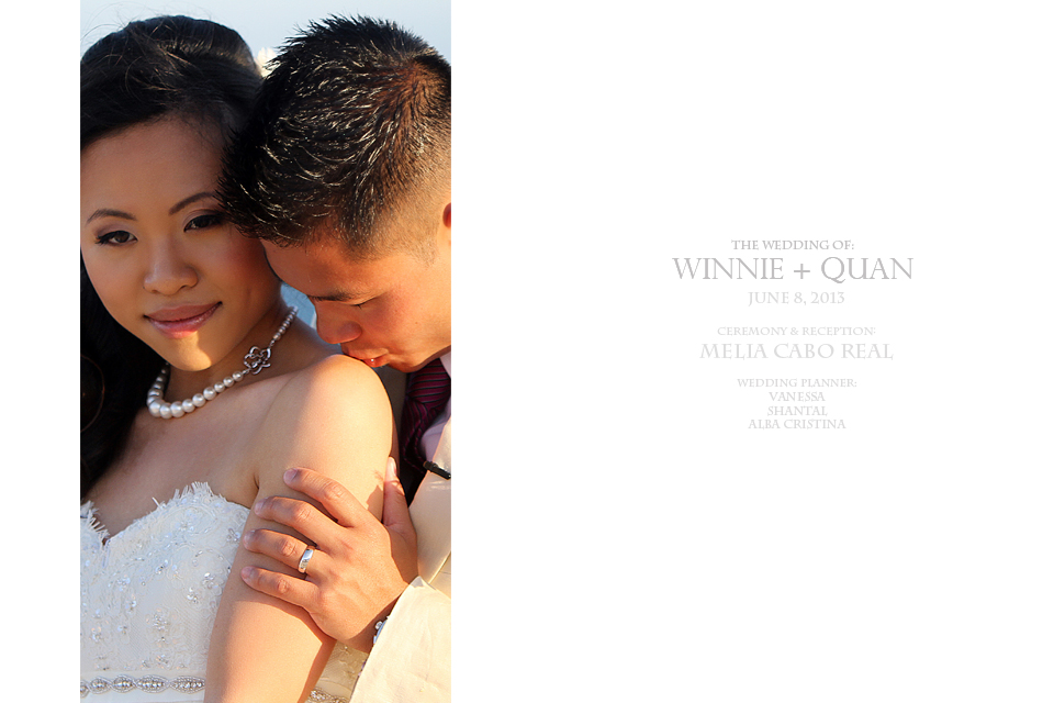 WEDDINGS IN MELIA CABO REAL